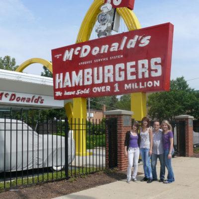 Die allererste Filiale von McDonald's