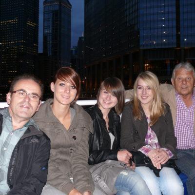 Heinz Koch, Franziska, Stephanie, Alexandra, Armin Homann