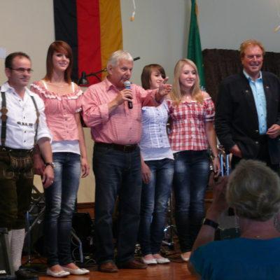 Heinz Koch, Franziska, Armin Homann, Stephanie, Alexandra, Günther Behrle
