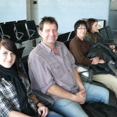 Stephanie, unser Papa, unsere Mama und Franziska